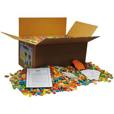 Carton XXL de 6300 flocons PLAYMAIS + accessoires