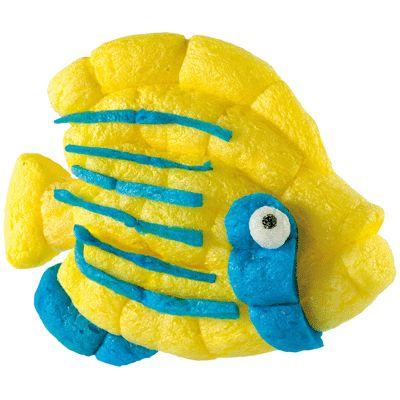 Carton xxl de 6300 flocons playmais accessoires for Flocon poisson
