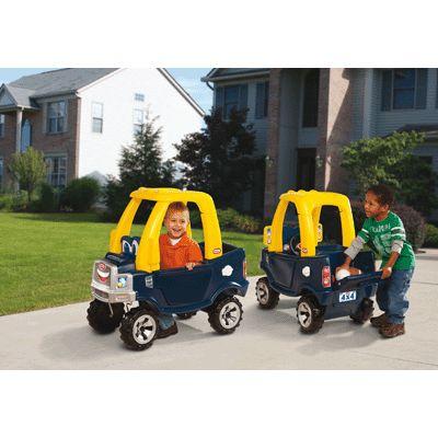 camion cozy tout terrain little tikes voitures sur planet eveil. Black Bedroom Furniture Sets. Home Design Ideas