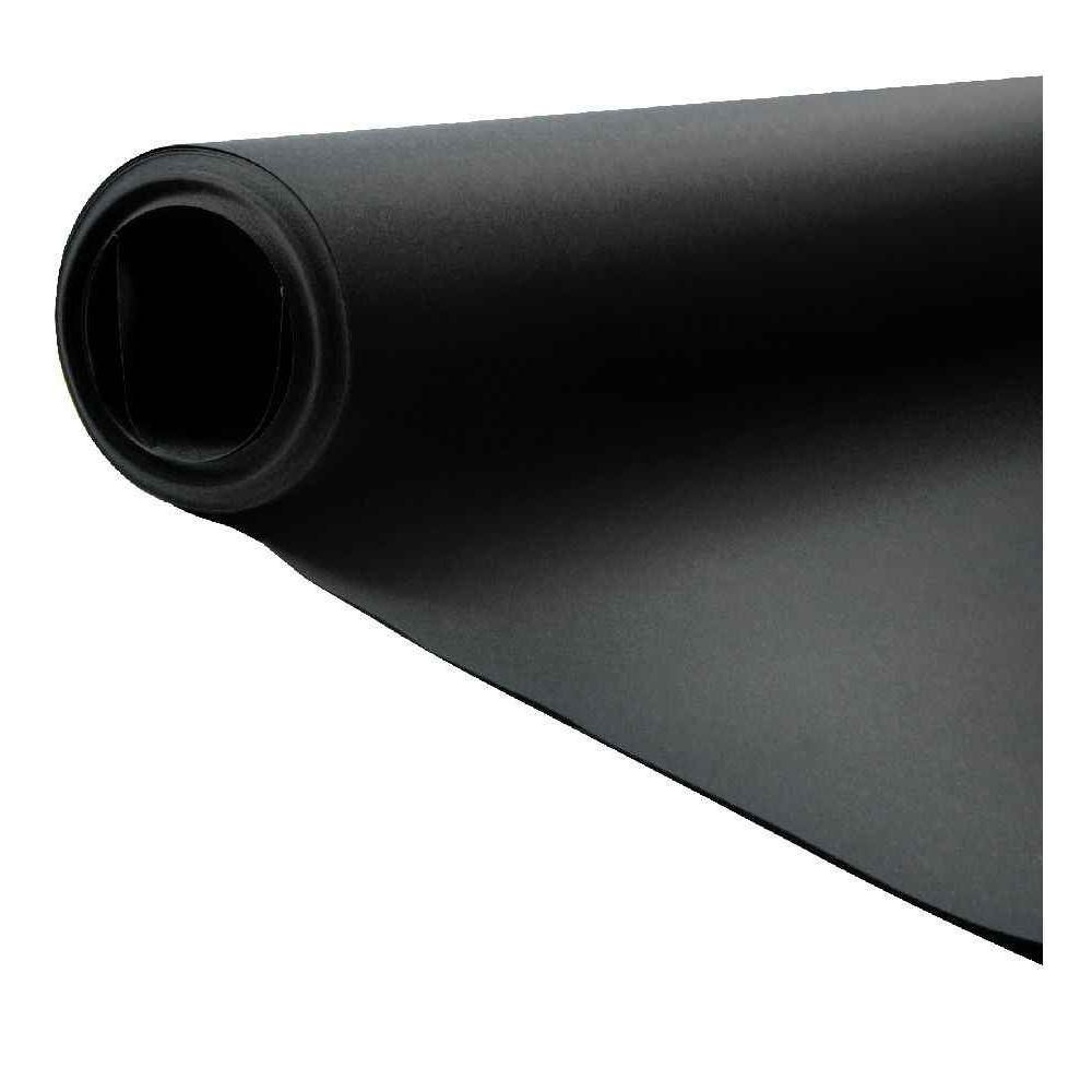 Rouleau de papier dessin noir 125g