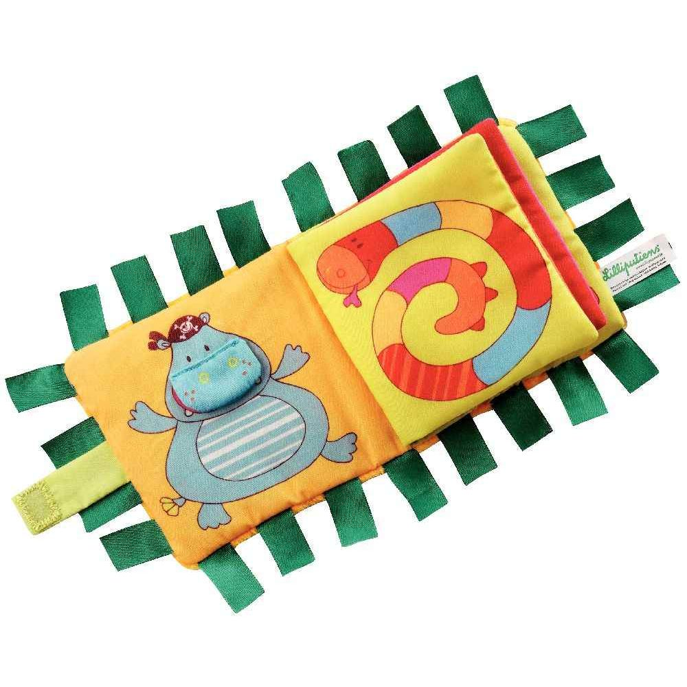 Imagier d'activités en tissu - Thème : Safari