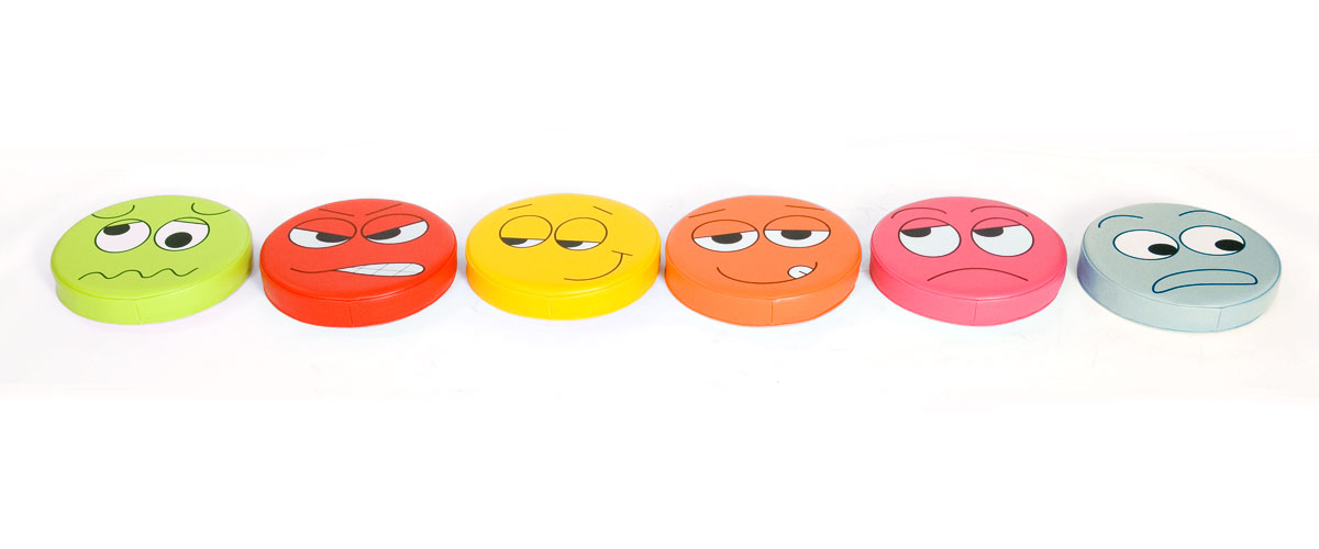 Coussins emotion pack 1 lot de 6 kit for kids tapis for Pack coquin