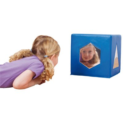 Cube miroir d formant kit for kids miroirs sur planet for Miroir deformant