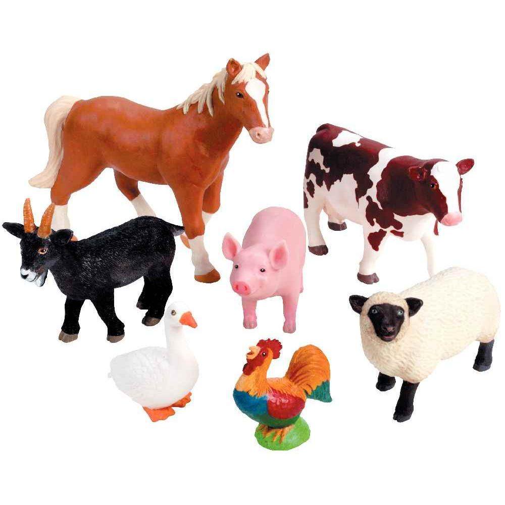 jumbo animaux de la ferme lot de 7 learning resources. Black Bedroom Furniture Sets. Home Design Ideas