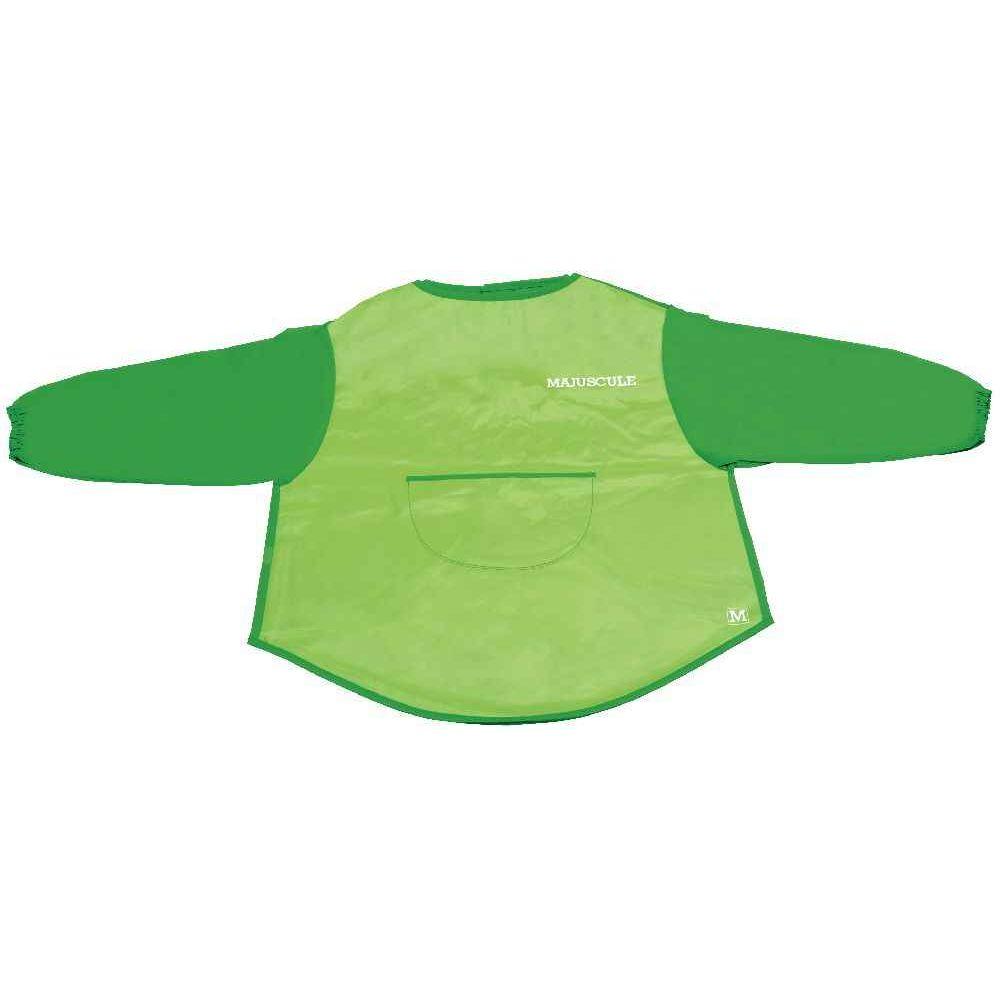 Tablier enfant en toile cirée verte - Modèle 3- 5 ans
