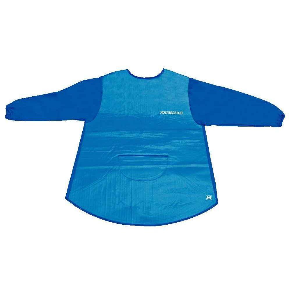 Tablier enfant en toile cirée bleue - Modèle 6- 8 ans