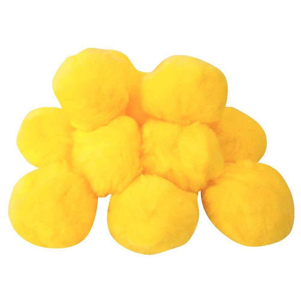 Balles peluches 9 cm - Lot de 12